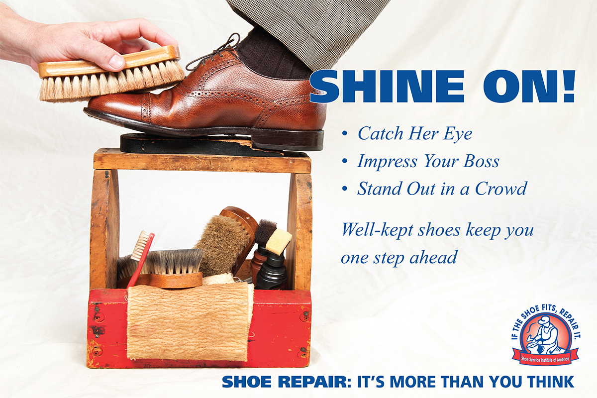 bf0316ef5af38 ... can do to protect your footwear investment. Combined with regular  visits to your local shoe repair shop, shoe care will significantly extend  the life ...