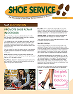 shoe repair newsletter